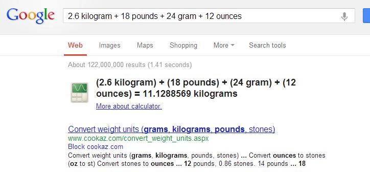 تبدیل همزمان چند واحد ارزی به یکدیگر به وسیلهی گوگل