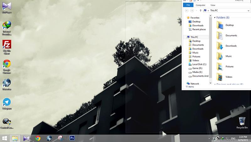 غیرفعال کردن قابلیت تغییر هوشمند اندازهی پنجرهها در ویندوز 7 و 8
