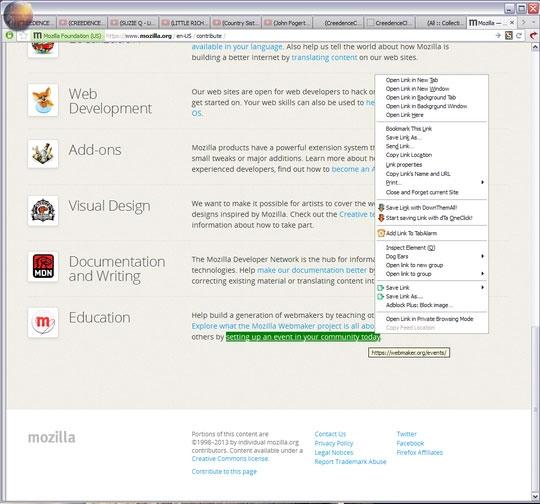 باز شدن خودکار سایتها در زمان مشخص در فایرفاکس