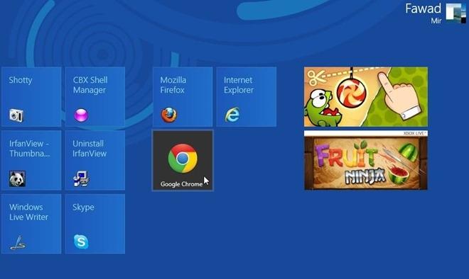 نحوهی استفاده از گوگل کروم به عنوان یک برنامهی Metro در ویندوز 8