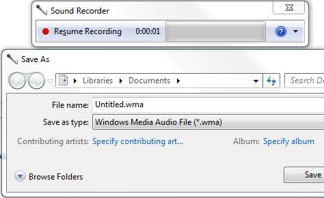 ذخیره صدا با کیفیتی بالاتر در Sound Recorder