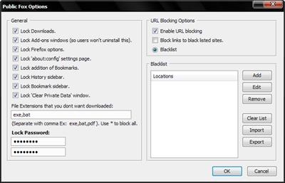 اعمال محدودیت برای استفاده کاربران از مرورگر فایرفاکس