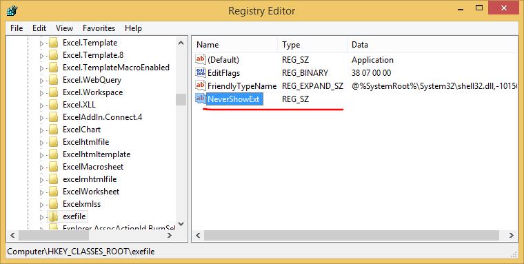 نمایش پسوند تمامی فایلها در ویندوز
