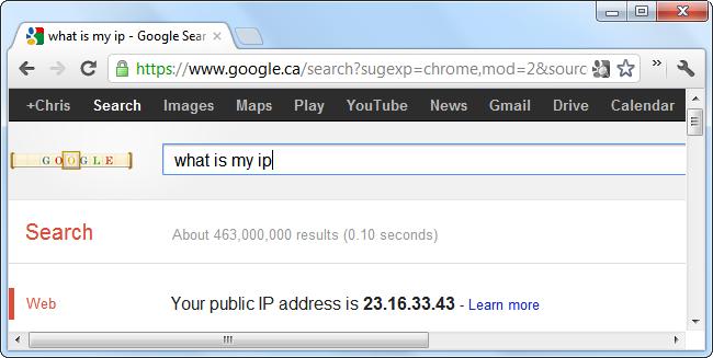 پی بردن به IP خودتان در اینترنت از طریق «گوگل»
