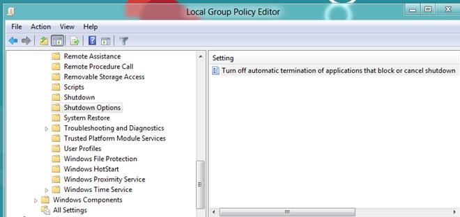 جلوگیری از بستهشدن اتوماتیک برنامهها به هنگام خاموش کردن کامپیوتر در ویندوز 7 و 8