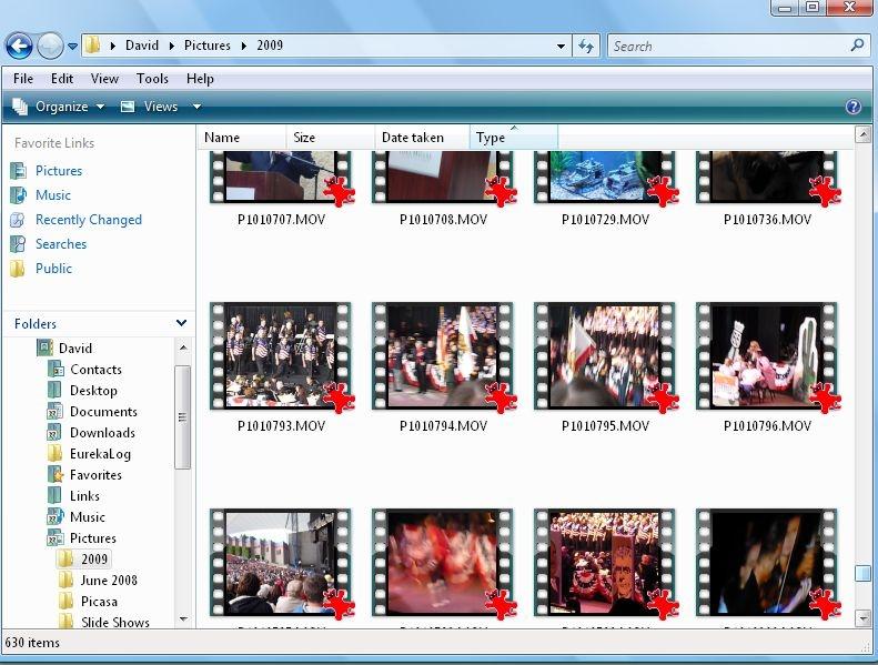 حل مشکل عدم نمایش تصویر کوچک پیشنمایش فایلهای با پسوند mov در محیط ویندوز