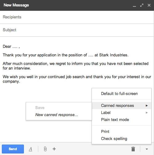 سهولت در ارسال ایمیلهای تکراری در Gmail