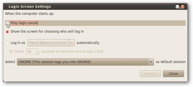 غیرفعال کردن صداهای خوشآمدگویی در Ubuntu