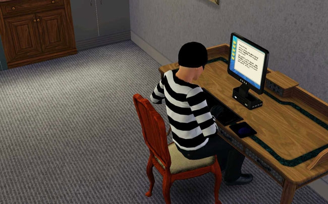 نحوه دزدی کردن در The Sims 3!