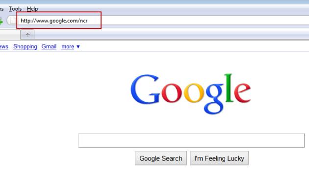 وادار کردن گوگل به نمایش صفحات جستجو به زبان انگلیسی