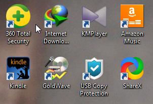 باگ موجود در صفحه دسکتاپ ویندوز ویستا و 7