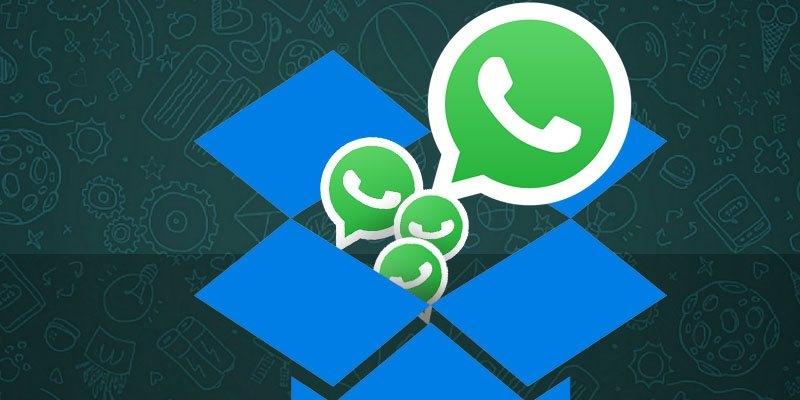 بکآپ گرفتن از اطلاعات واتساپ بر روی دراپباکس