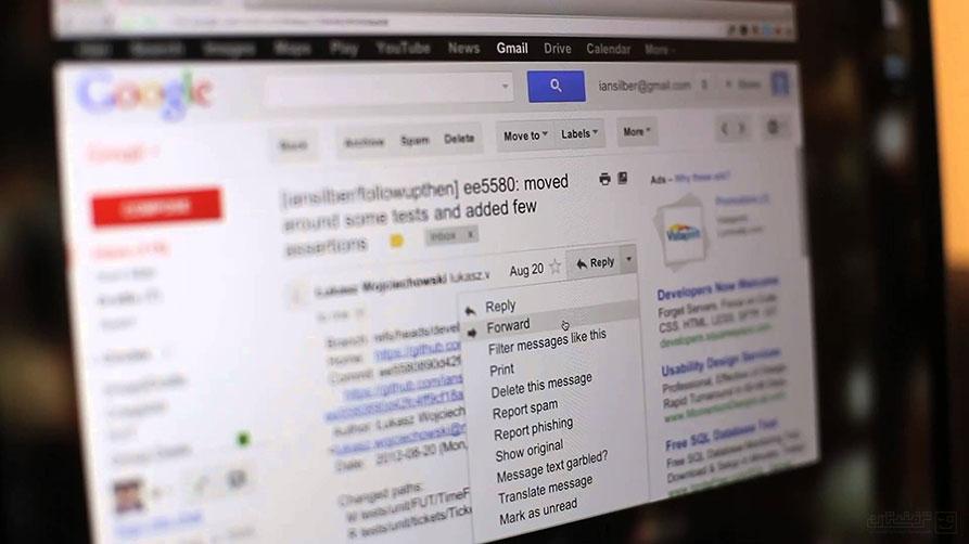 فوروارد خودکار ایمیلها به آدرسهای متعدد در Gmail
