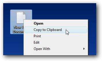 کپی نمودن محتویات یک فایل متنی بدون باز کردن فایل