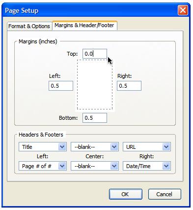 پرینت گرفتن صحیح و آسان در مرورگر فایرفاکس