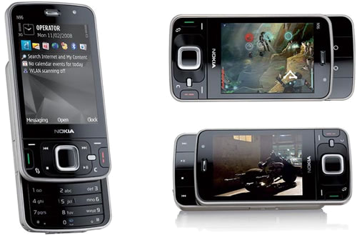فعال نمودن افکتهای جذاب گوشی N96