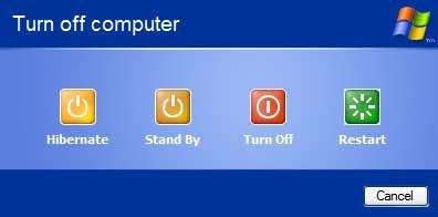 افزودن دکمه Hibernate به شکل مستقل در صفحه Turn Off Computer