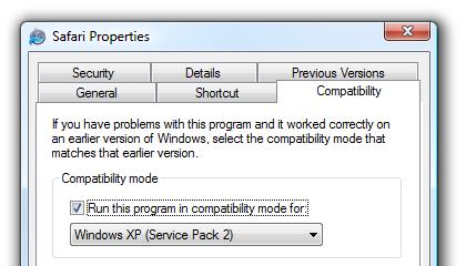 حل مشکل Crash کردن مرورگر Safari در ویندوز ویستا