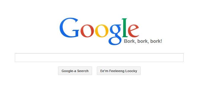 گوگل و زبانهای عجیب و غریب!