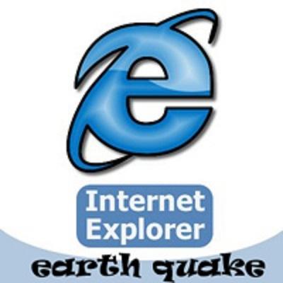 یک زلزله چند ریشتری در مرورگر IE