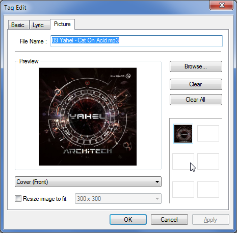 قرار دادن عکس در آهنگ به وسیلهی نرمافزار JetAudio