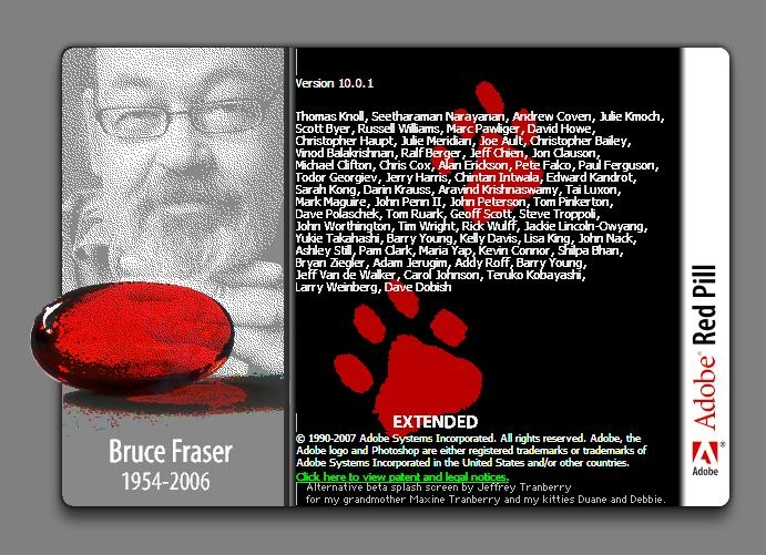 قرص قرمز مخفیشده در Adobe Photoshop CS3