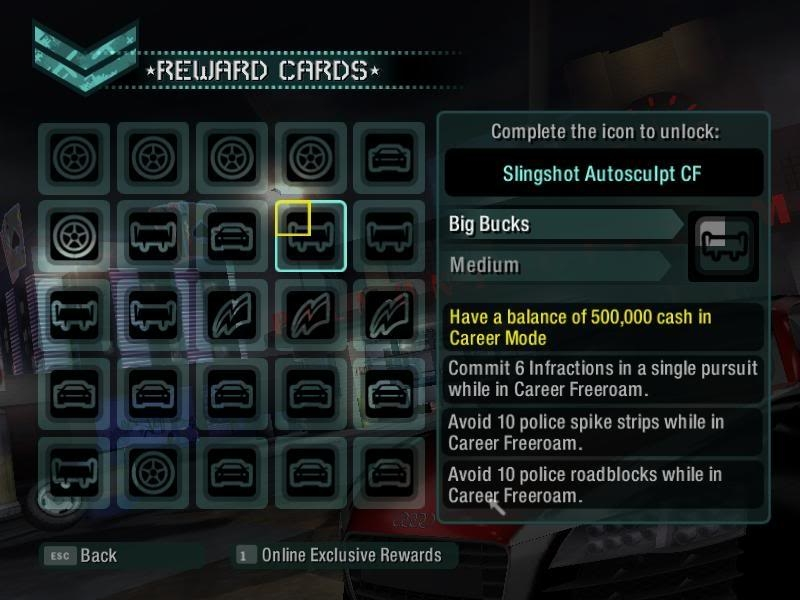 آزاد کردن ماشینهای جدید در بازی Need For Speed Carbon