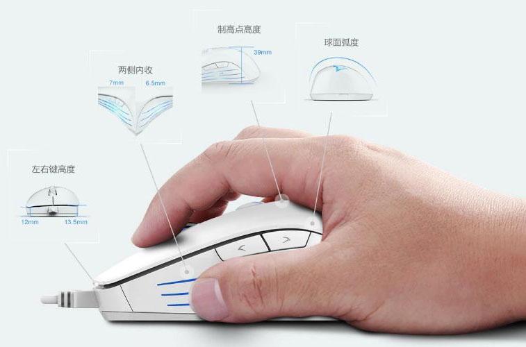ماوس چینی Taidu برای اندازهگیری ضربان قلب گیمرها