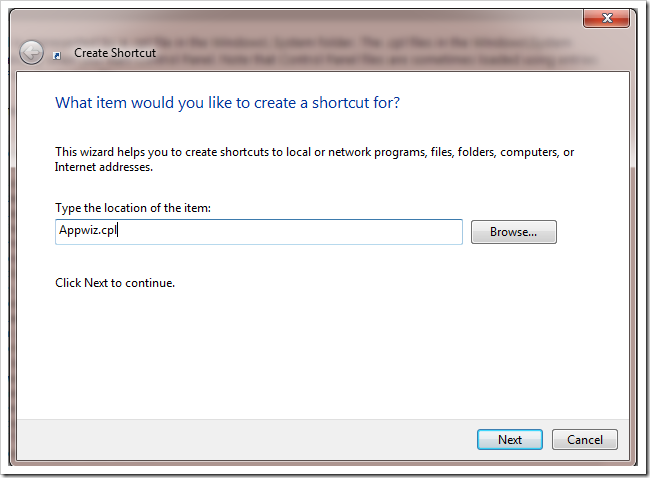 ساخت Shortcut برای بسیاری از قسمتهای ویندوز