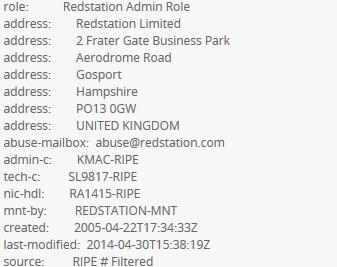 یافتن ریز اطلاعات یک IP