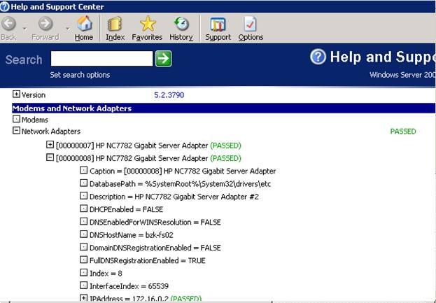 مشاهدهی کلیهی اطلاعات ویندوز XP