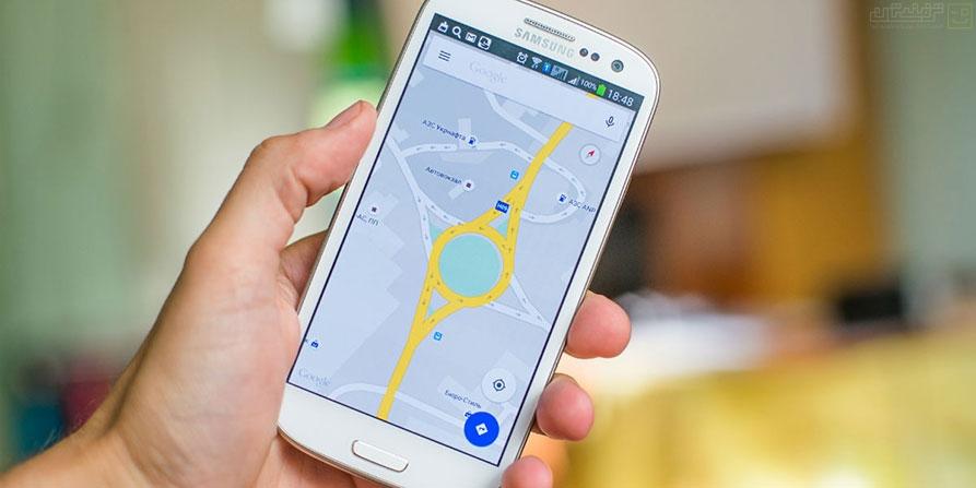 زوم یکدستی در نقشهی گوگل